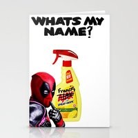 Whats my Name? Stationery Cards