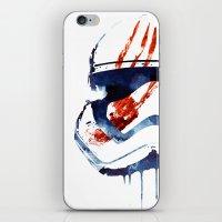 Bloody Memories iPhone & iPod Skin