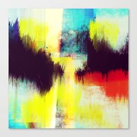 A Subdued Trance Canvas Print