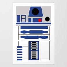AstroMech Art Print