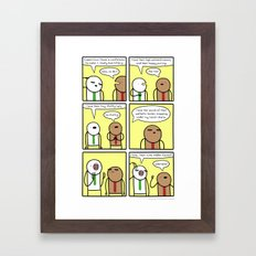 Antics #310 - kitten appreciation station Framed Art Print