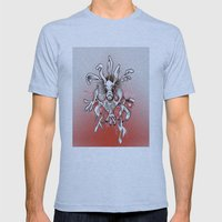 machinery No. 0005 Mens Fitted Tee Athletic Blue SMALL