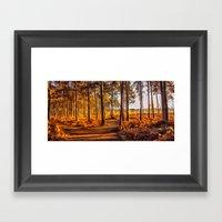 My World Your World Framed Art Print