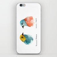 TWO WARBLERS iPhone & iPod Skin