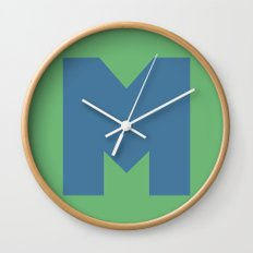M is for... Wall Clock