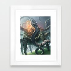 Creature from the Abyss Framed Art Print
