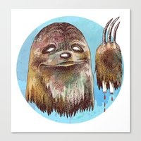 Sloth Pride Canvas Print