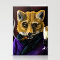 Sophisticated like a Fox Stationery Cards