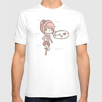 Silly You Mens Fitted Tee White SMALL
