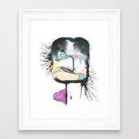 Morning Sickness Framed Art Print