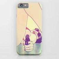 Girl With Gun 2 iPhone 6 Slim Case