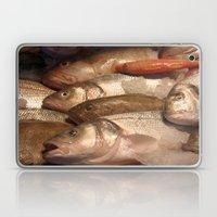 Variety Of Fresh Fish Se… Laptop & iPad Skin