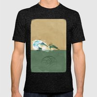 Avatar Korra Mens Fitted Tee Tri-Black SMALL