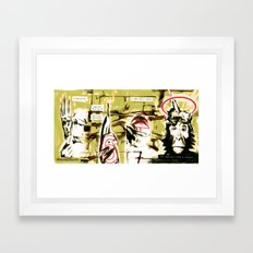 Monkey Gone to Heaven Framed Art Print