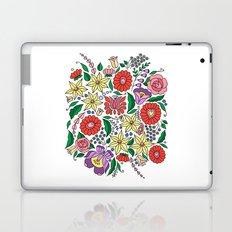 Hungarian embroidery motifs Laptop & iPad Skin