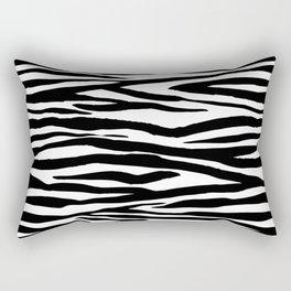 Rectangular Pillow - Zebra stripes pattern - LebensARTdesign