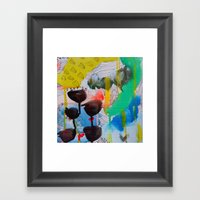 There is nothing better than bad weather Framed Art Print