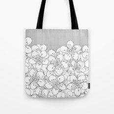 Cherry Blossom Grid - In Memory of Mackenzie Tote Bag
