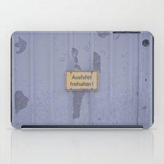 Ausfahrt iPad Case