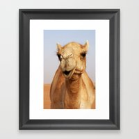 Smile Framed Art Print