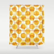 Lemon Dots Shower Curtain