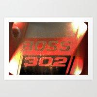 Boss 302 Art Print