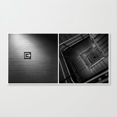 In/Out Canvas Print