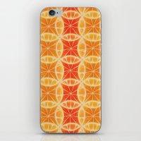 Orange Slice Pattern iPhone & iPod Skin
