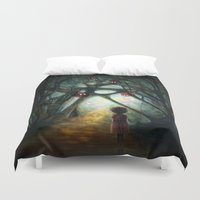 Through the Dream Duvet Cover