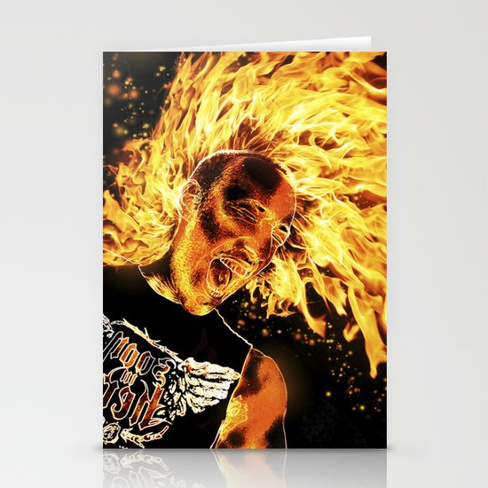 I am the Fire Starter. Stationery Card