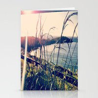 Floral Sunsets In May Stationery Cards