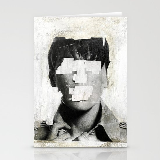 Faceless | number 02 Stationery Card