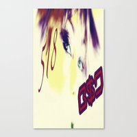 B$D 518 Shout Out  Canvas Print
