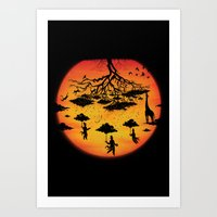 Sees the Day Art Print