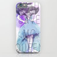 iPhone & iPod Case featuring God Save McQueen by Camis Gray