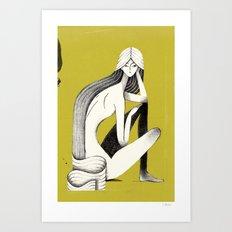Pin-up #3 Art Print