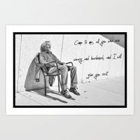 Just Chill Art Print