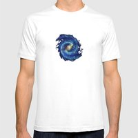 The Milky Way Galaxy - P… Mens Fitted Tee White SMALL
