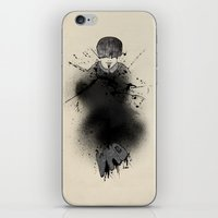 Style outside, man inside iPhone & iPod Skin