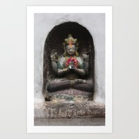 Bodhinath Shrine - 4 of 6 Art Print