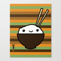 Ricebowl Canvas Print