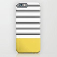 MINIMAL Green Stripes iPhone 6 Slim Case
