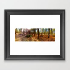 Fall Feelings Framed Art Print