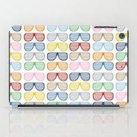 Rainbow Shutter Shades iPad Case