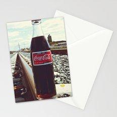 Urban railway Coke Stationery Cards