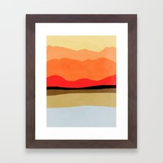 Abstract landscape 1 Framed Art Print