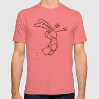 On The Winning Side Mens Fitted Tee Pomegranate SMALL