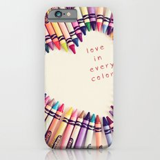 love in every color iPhone 6s Slim Case