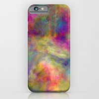 iPhone & iPod Case featuring rainbow clouds by Christy Leigh