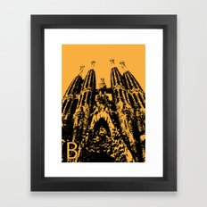 Barcellona B Framed Art Print